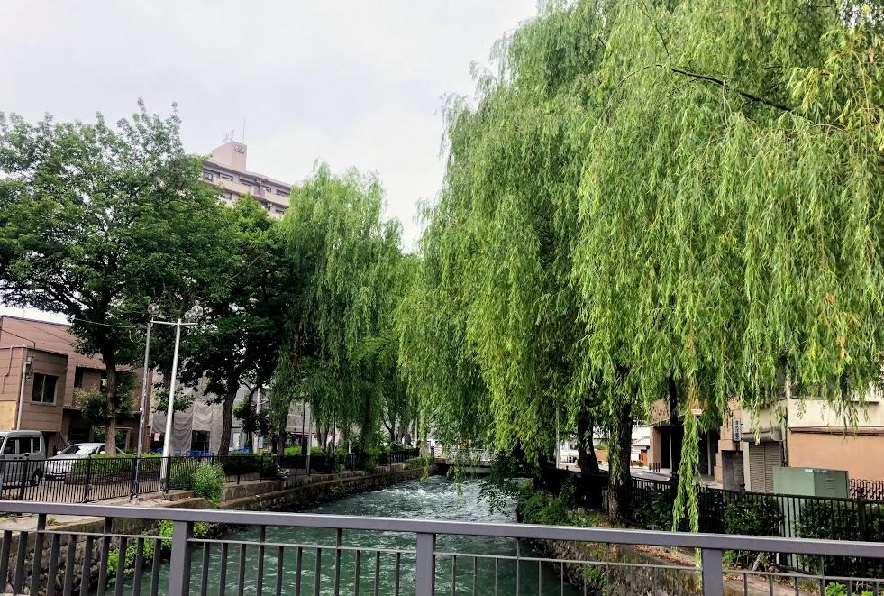 前橋 広瀬川