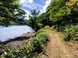 赤城山 大沼周遊歩道
