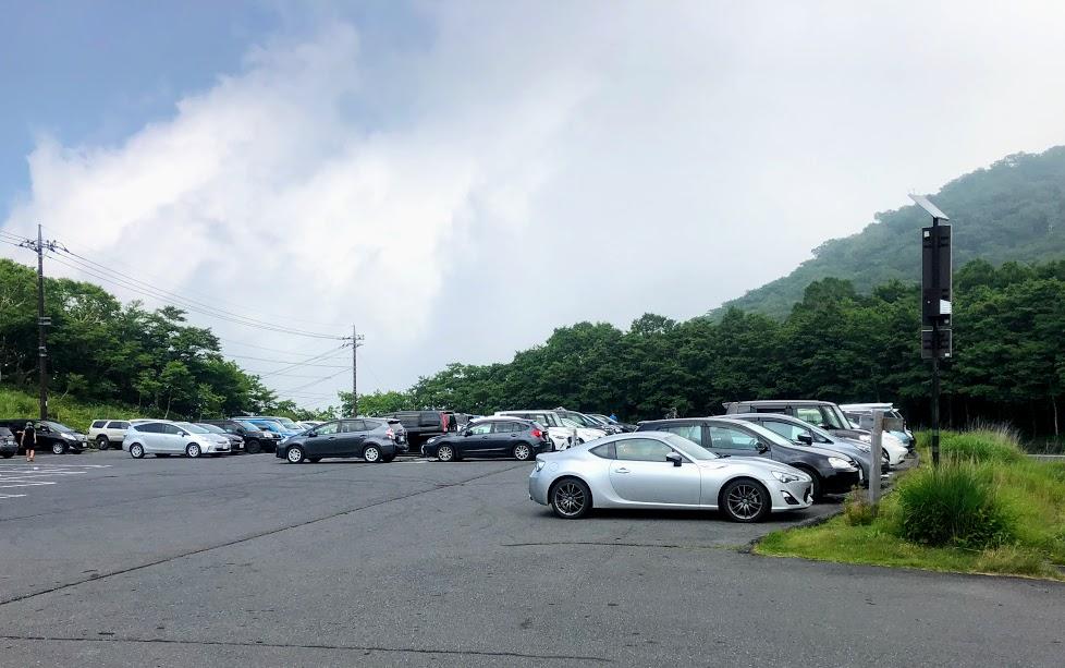 赤城山 小沼駐車場