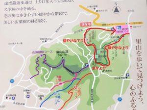 川場田園プラザ 虚空蔵堂ハイキングコース
