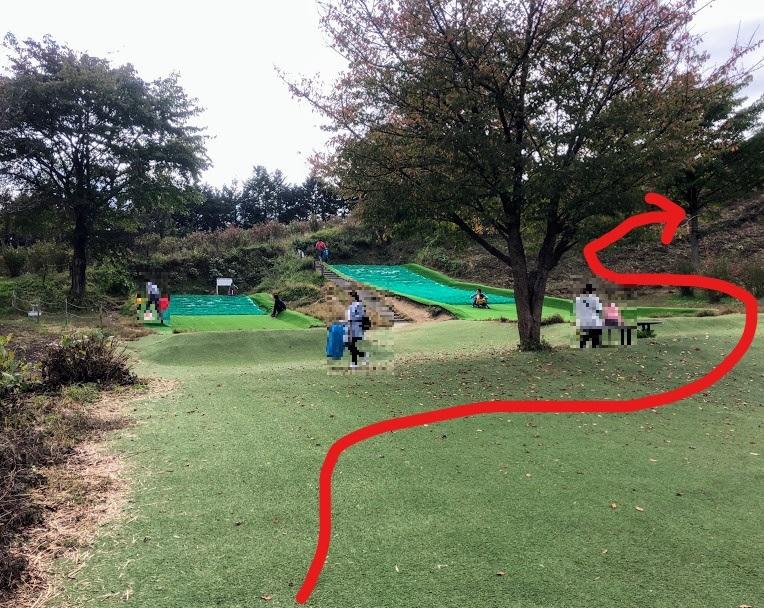 川場田園プラザ 滑り台