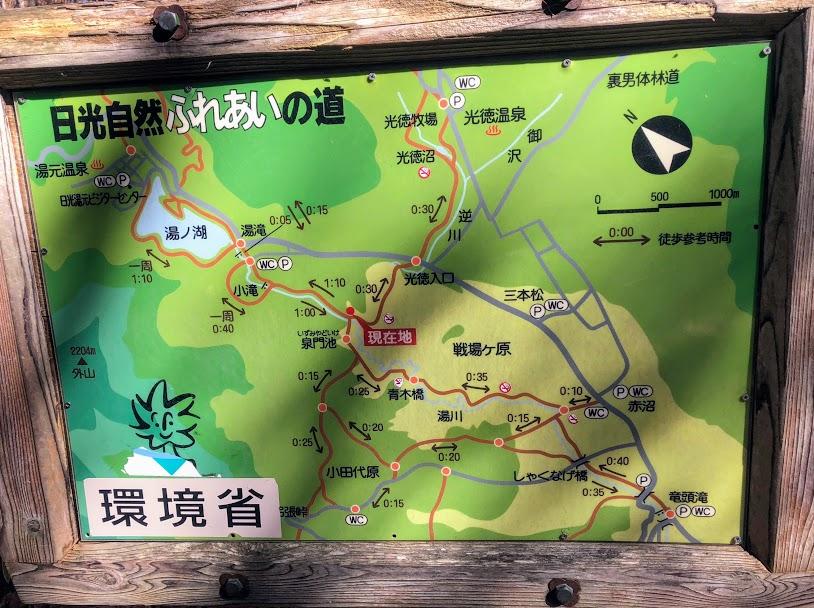 戦場ヶ原ハイキングコース