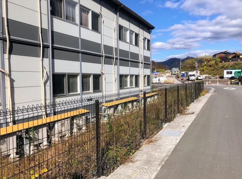 八ッ場ダム 宿舎