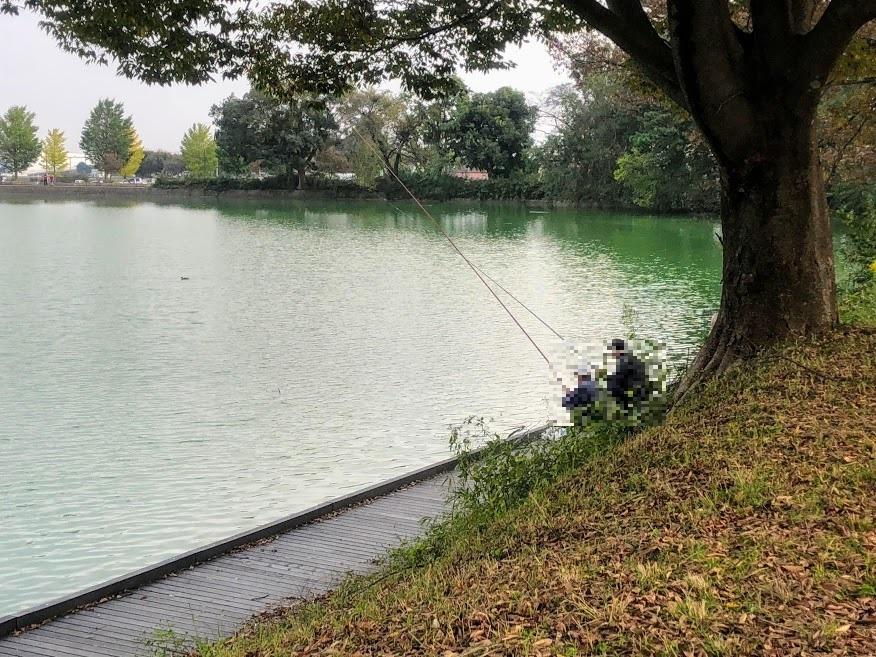 大室公園 釣り