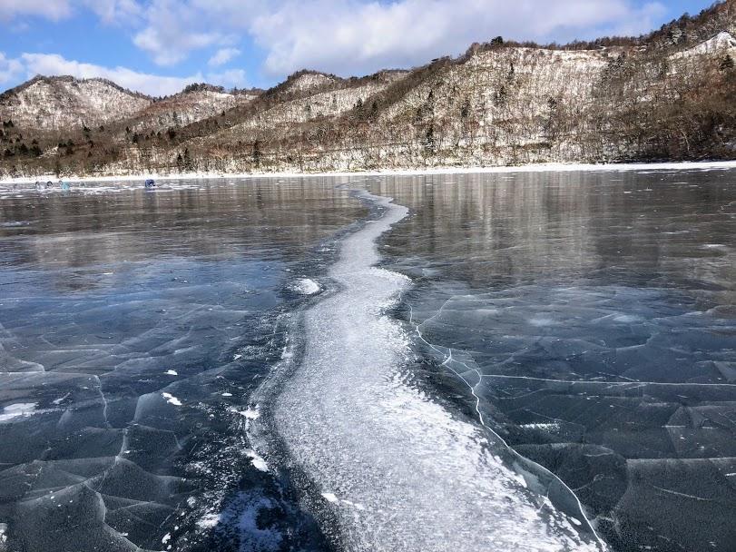 赤城山 冬の大沼