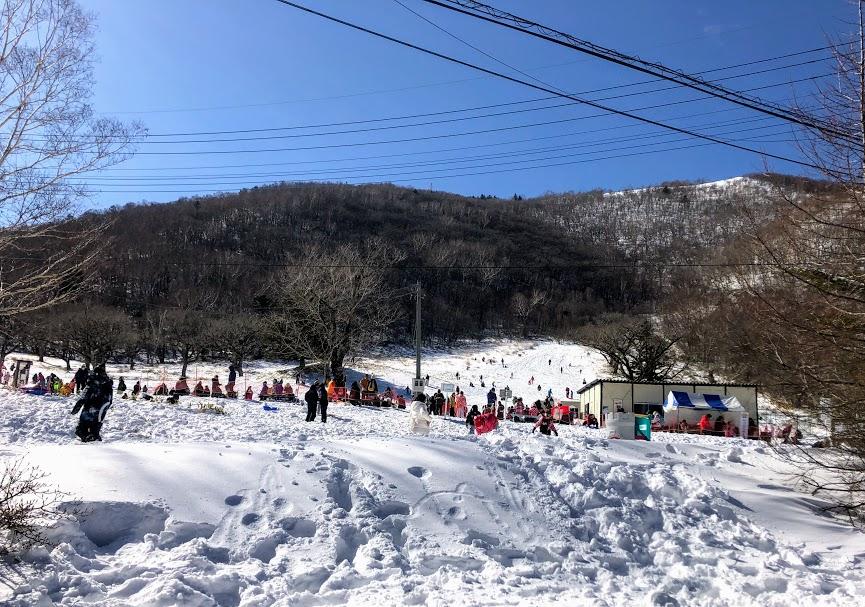 赤城山 スキー場