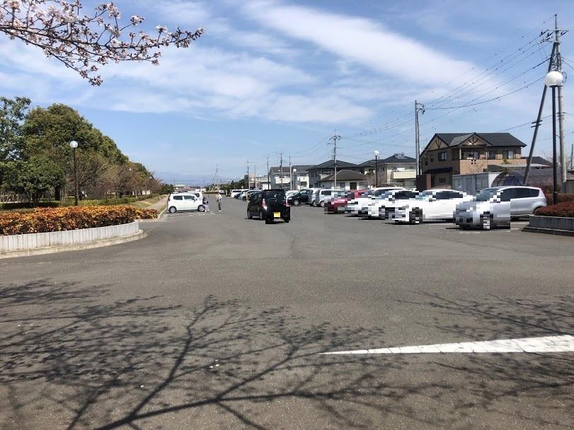 波志江沼環境ふれあい公園 東側駐車場