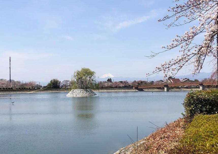 波志江沼 浅間山