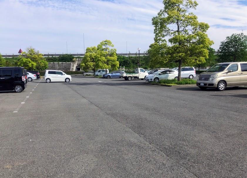 波志江沼ふれあい公園 けやき広場駐車場